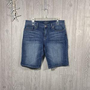 Lucky Brand Denim Bermuda Shorts Size 14